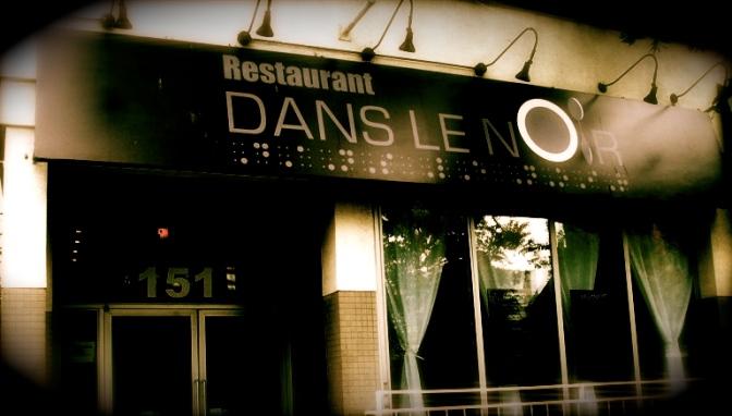 Critique : Dans le noir (Restaurant).