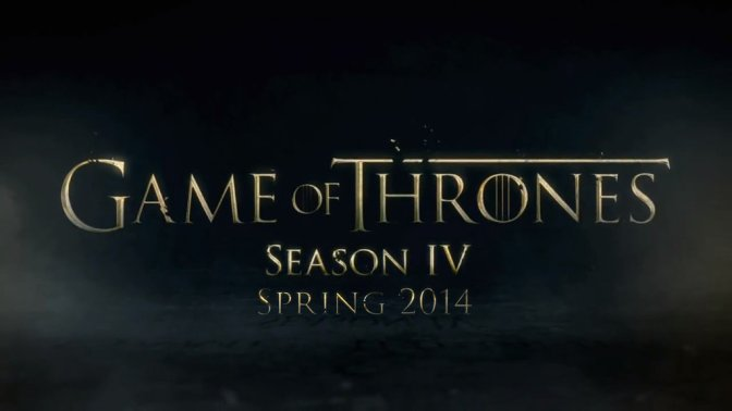 HBO continue la promotion de la 4e saison de Game of Thrones
