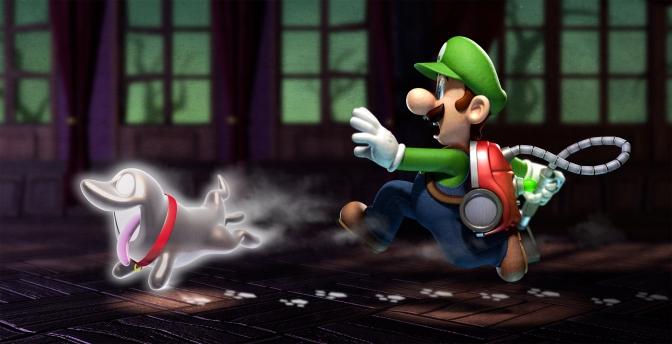 Critique : Luigi's Mansion Dark Moon (Jeu vidéo)