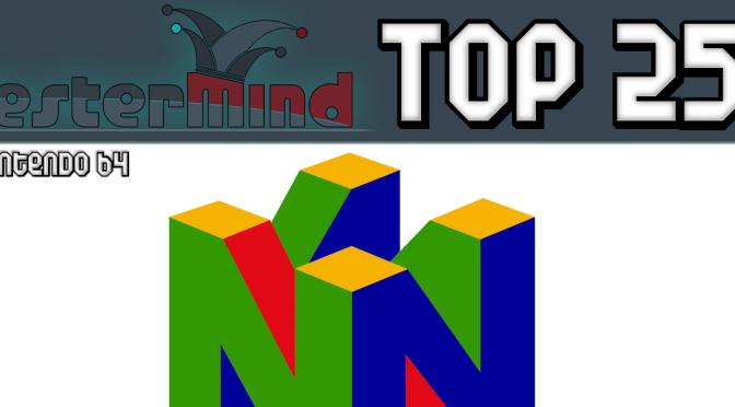 Le top 25 Nintendo 64 de Philippe Crête