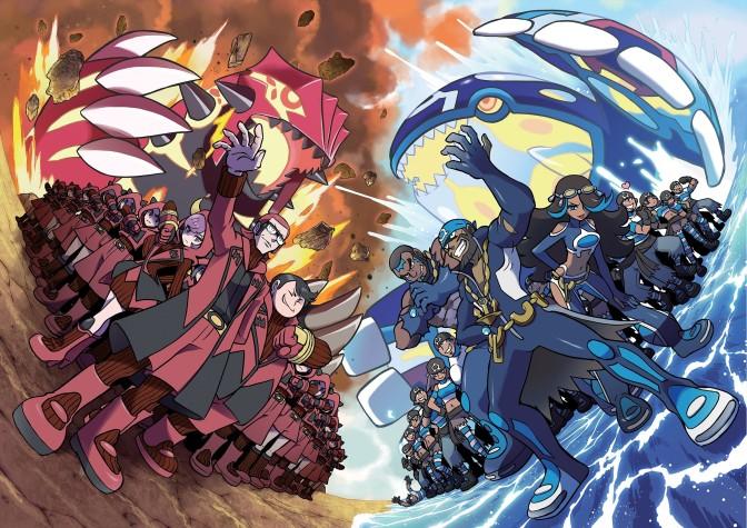 Aperçu de Pokémon Alpha Sapphire et Omega Ruby